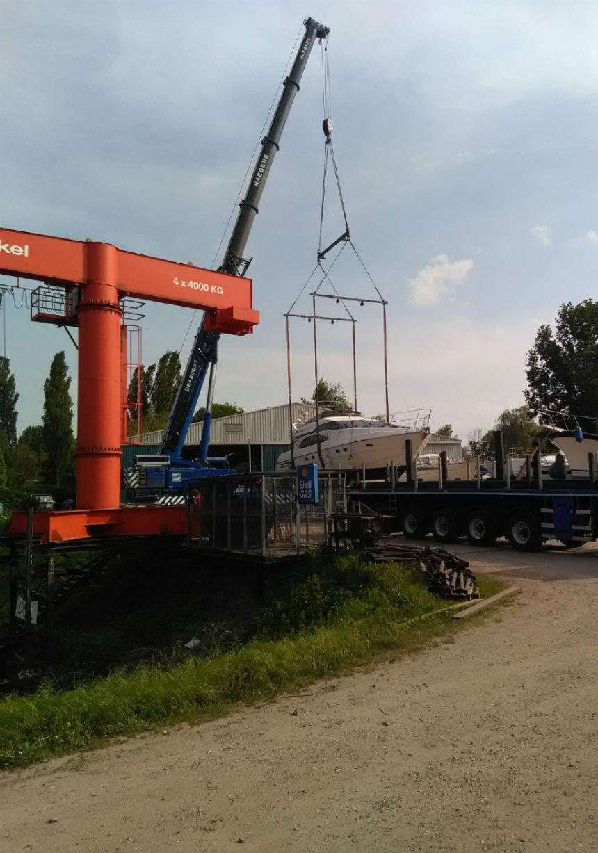 WatersportCenrum Arnhem - Huur kraan