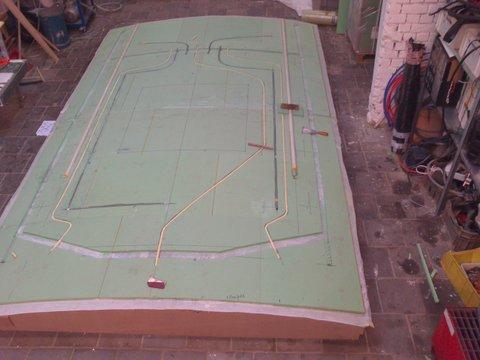4 Composiet dak met voorbereiding elektriciteit, schuifluik en geïntegreerde biminitop