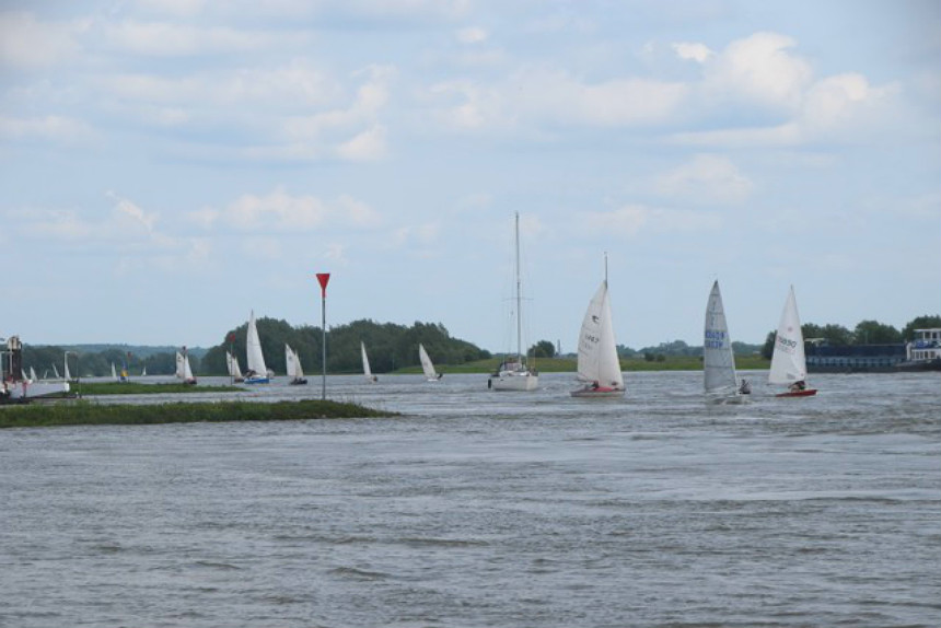 WatersportCentrum Arnhem - Rijnrace 2016